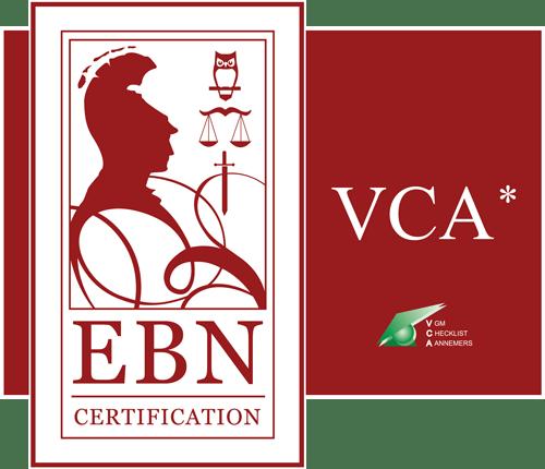 VCA certificaat Oosterman Hoveniers